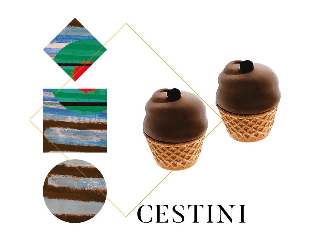 Cestini - gelati Arte Gadi