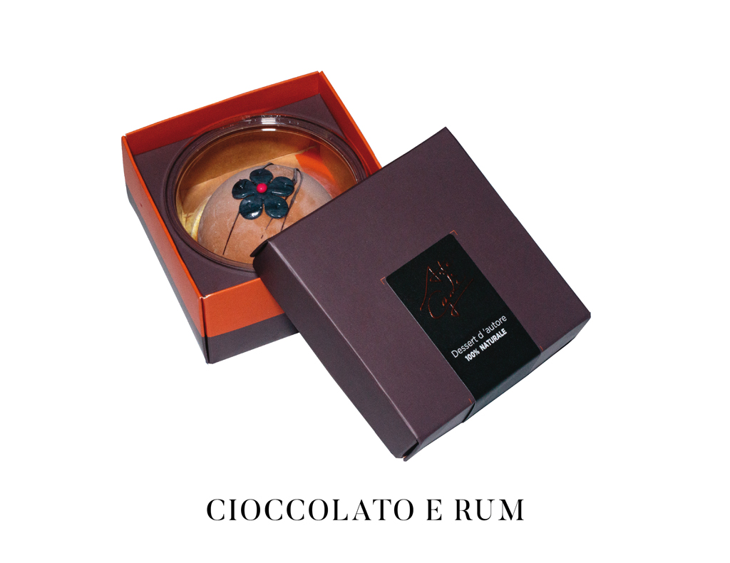 arte gadi dessert cioccolato e rum