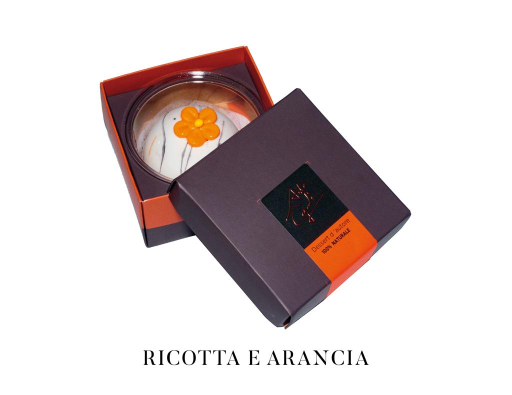 arte gadi dessert ricotta e arancia