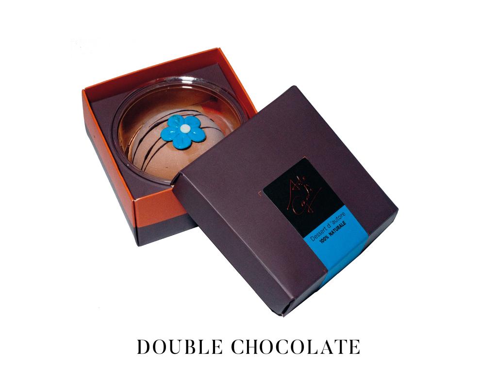 arte gadi dessert doppio cioccolato