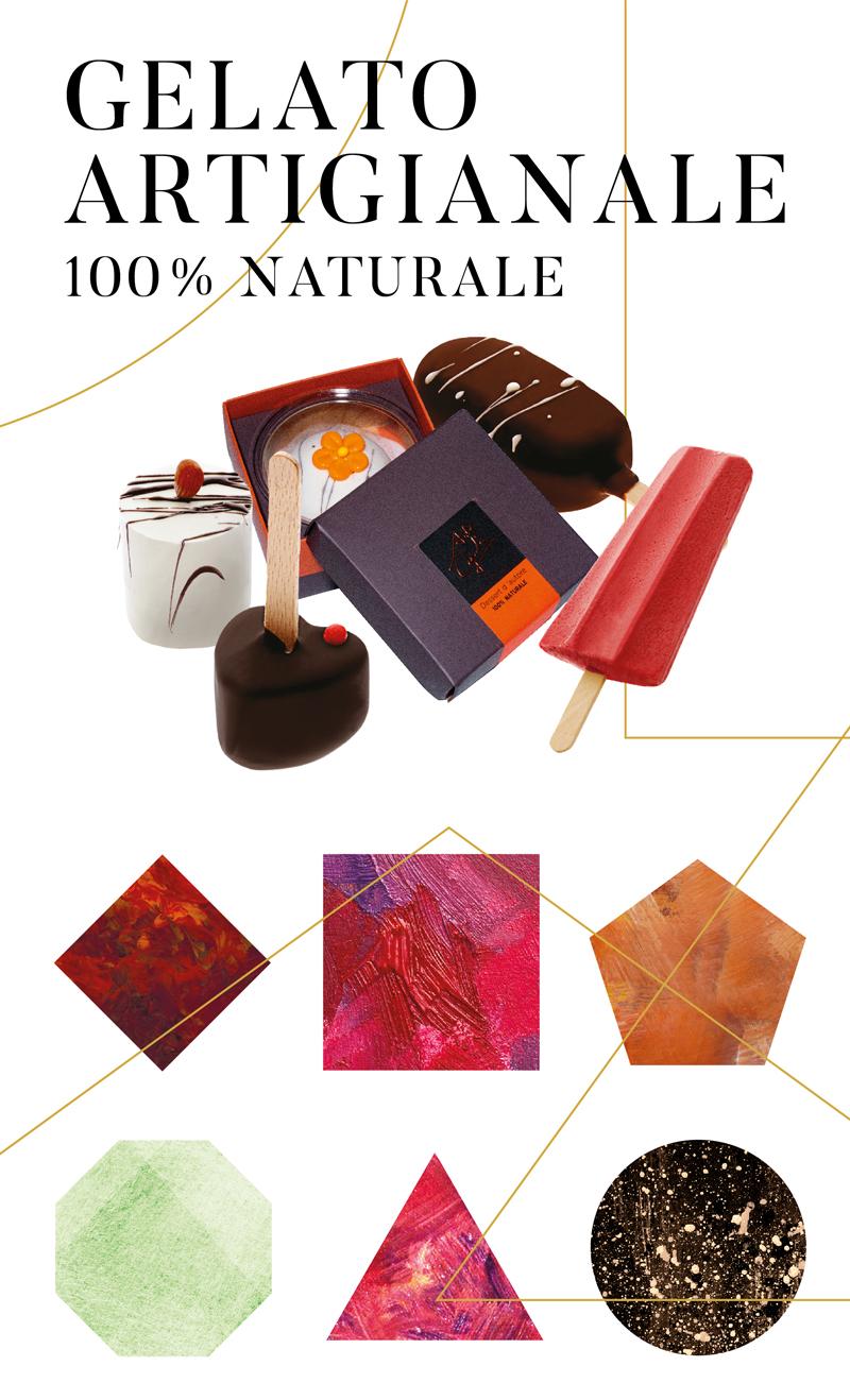 gelato artigianale 100% naturale - arte gadi