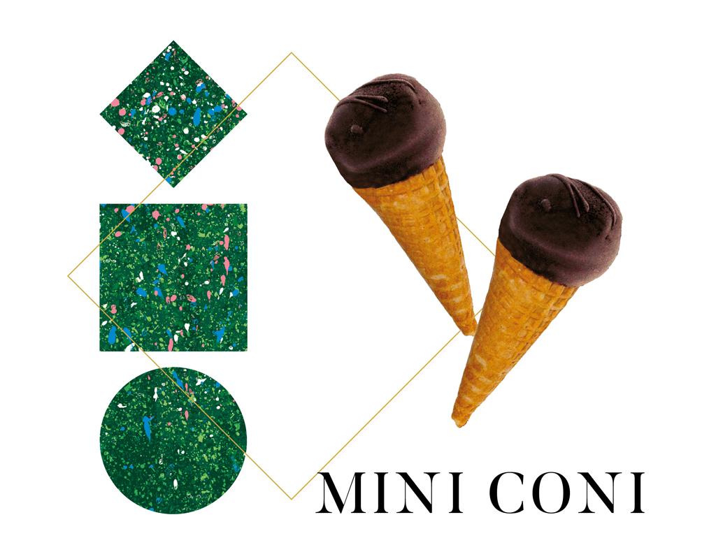mini coni - gelati artigianali by arte gadi